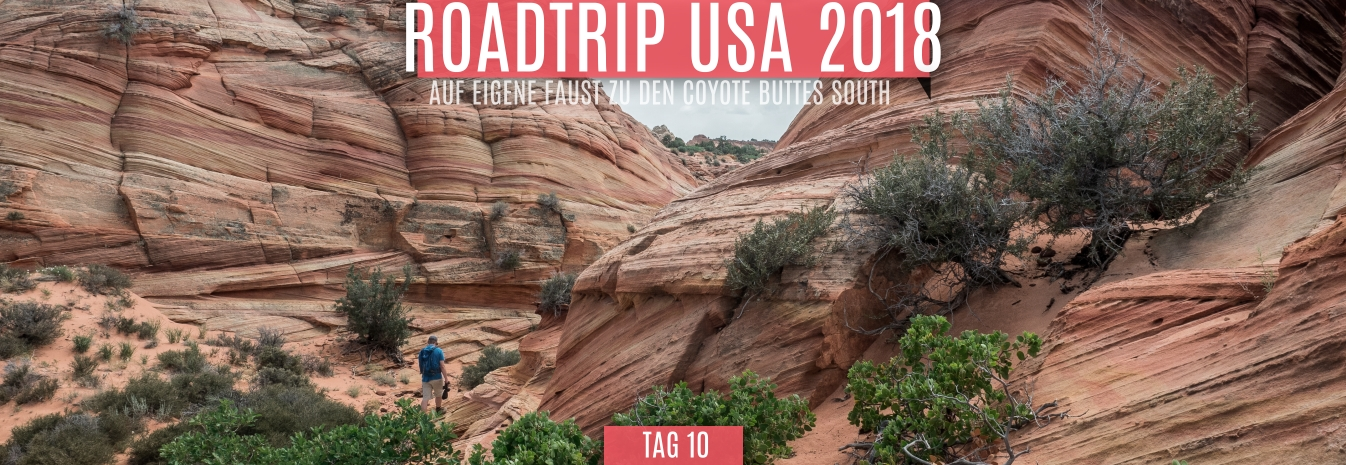 Tag 10 – 19.05.2018 – Auf eigene Faust zu den Coyote Buttes South