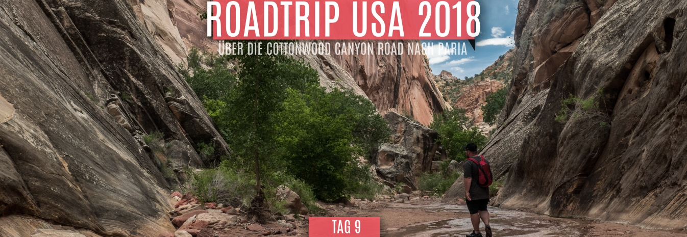 Tag 9 – 18.05.2018 – Über die Cottonwood Canyon Road nach Paria