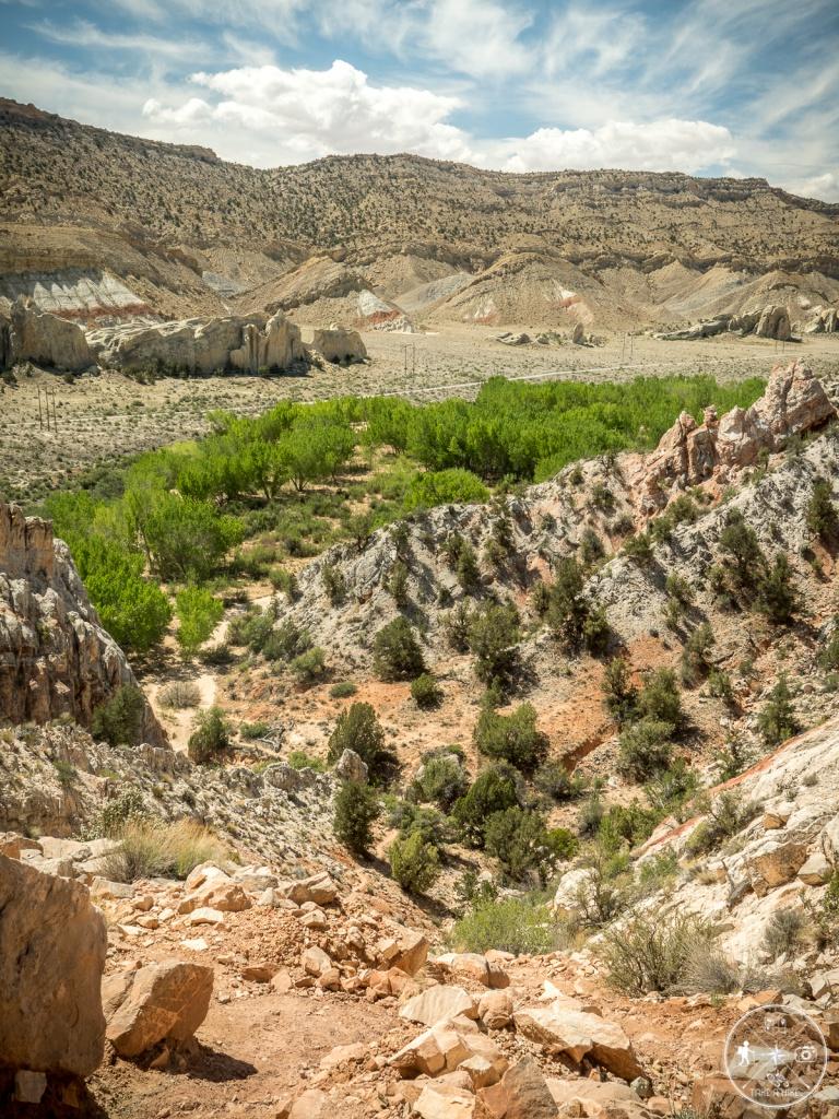 Yellow Rock - die erste Steigung war bewältigt