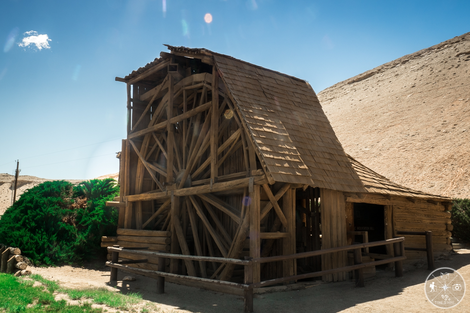 Wolverton Mill in Hanksville