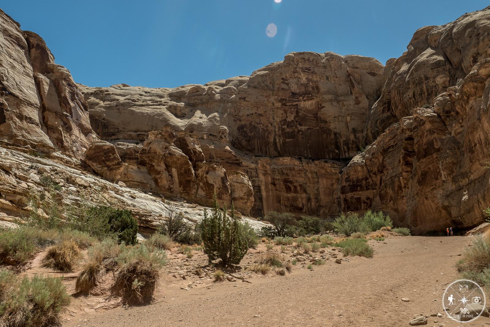 Little Wild Horse Canyon - der etwas weitere Teil des Canyons
