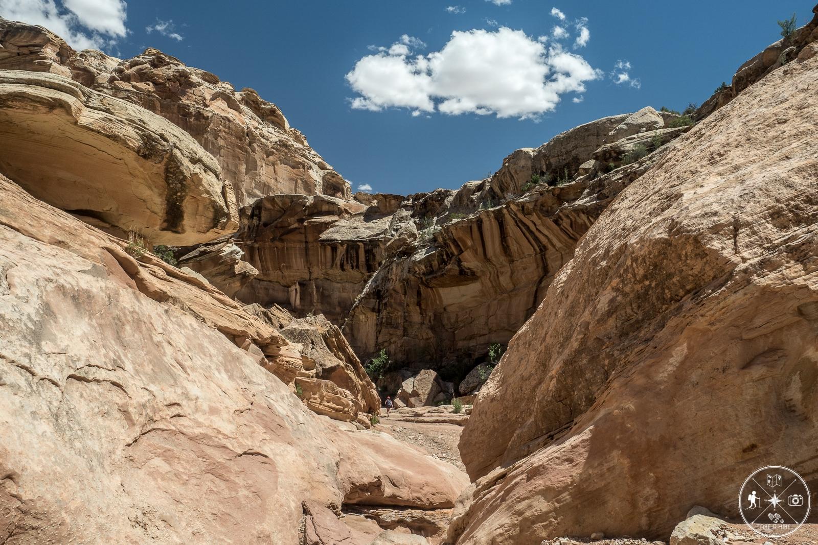 Endlich im Bell Canyon angekommen....
