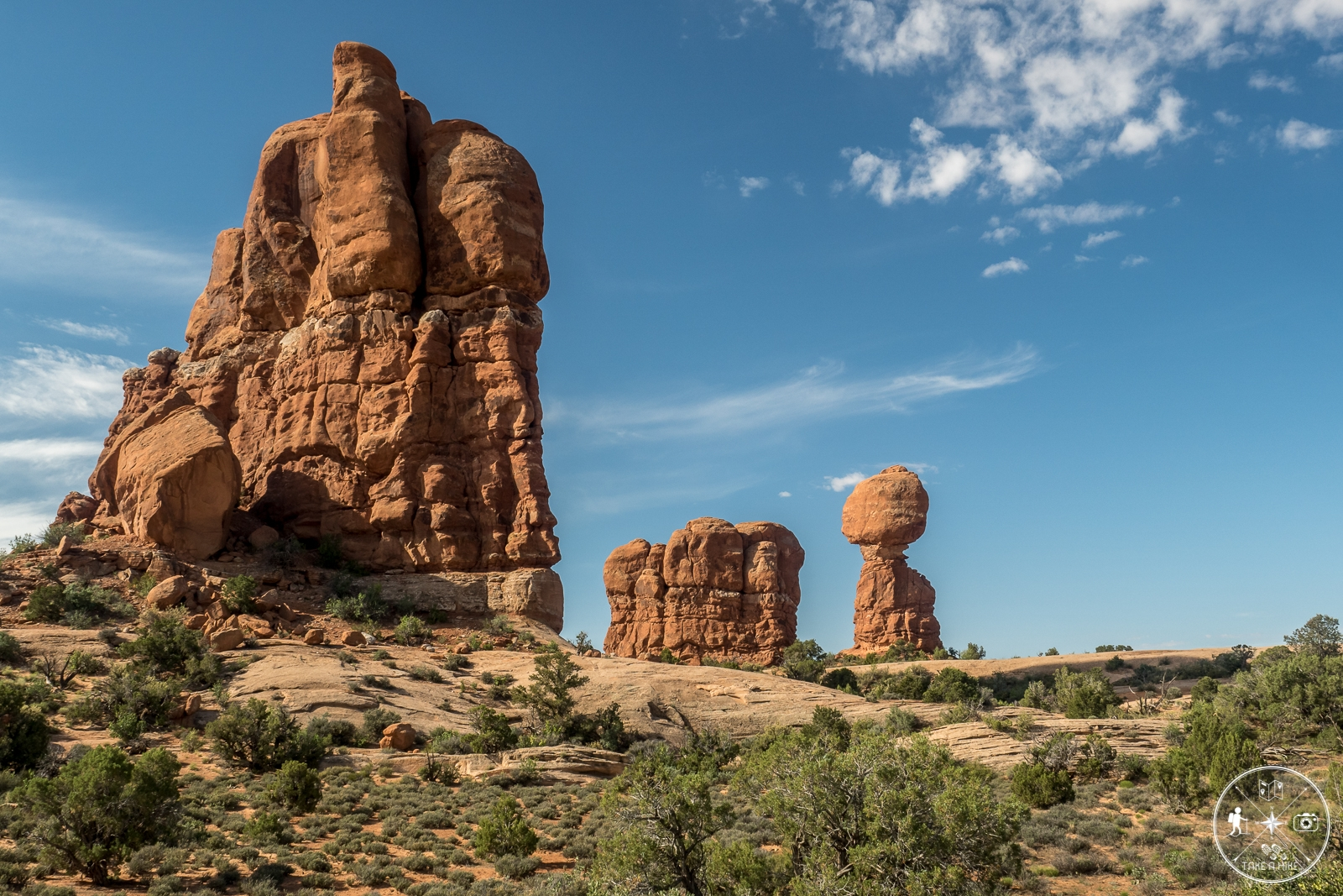 Arches NP Scenic Drive - Balanced Rock