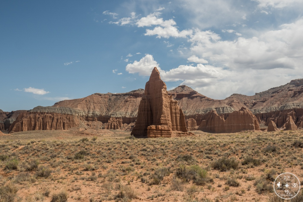Cathedral Valley - Temple Of The Moon