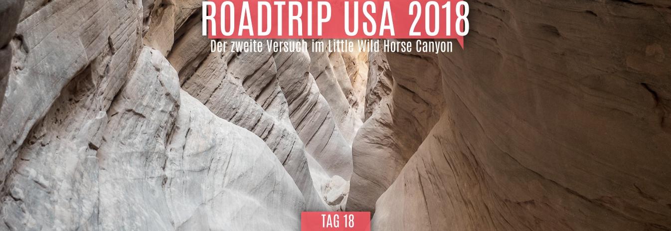 Tag 18 – 27.05.2018 – Der zweite Versuch im Little Wild Horse Canyon