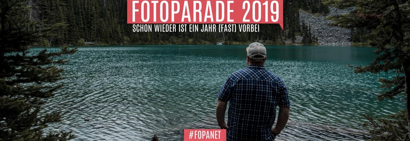FOTOPARADE 2019 – SCHON WIEDER IST EIN JAHR (FAST) VORBEI