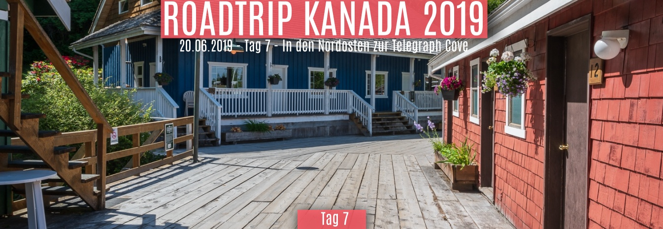 20.06.2019 – Tag 7 – In den Nordosten zur Telegraph Cove